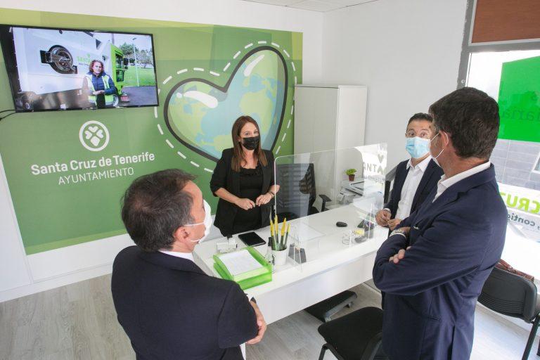 Nueva oficina de Santa Cruz Limpia.